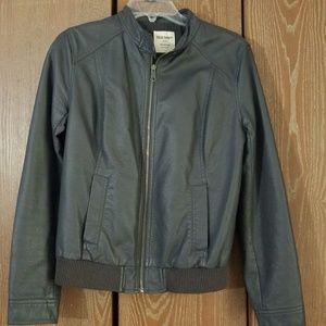 Old Navy Jackets & Coats - Faux leather jacket